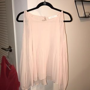 ASTR blush blouse, size M